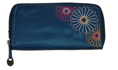Travelon Luggage Rfid Blocking Ladies WalletOne SizeNavy ** Check out this great product.