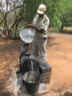 'Donkey Boiler' for hot water - Picture of Mosetlha Bush Camp & Eco Lodge, Madikwe Game Reserve - Tripadvisor Water Pictures, A Frame House, Game Reserve, Its A Wonderful Life, Survival Kit, Donkey, South Africa, Trip Advisor, Rooster