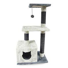 Rascador para Gatos barato 2 alturas y Gatera