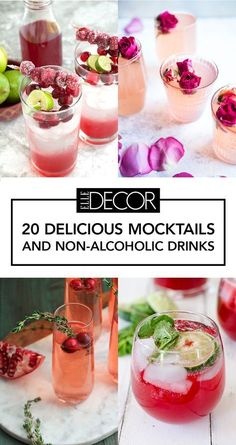 20 Mouthwatering Mocktails That Will Get The Party Started — Sans Booze - Dr. - - 20 Mouthwatering Mocktails That Will Get The Party Started — Sans Booze – Dr… Drink 20 Mouthwatering Mocktails That Will Get The Party Started — Sans Booze – Dr… Easy Mocktail Recipes, Drinks Alcohol Recipes, Punch Recipes, Cocktail Recipes, Fireball Recipes, Party Recipes, Drink Recipes, Smoothie Recipes, Brunch Drinks