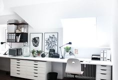 Mein Arbeitszimmer (gefühlt endlich fertig!)
