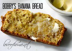 Bobby Flay's Banana Bread   Love of Home