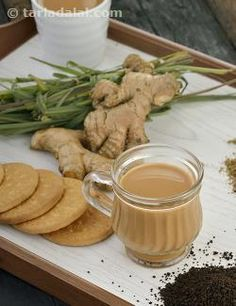 40 Indian Tea Recipes, Collection of Chai Recipes, Tarla Dalal Tea Recipes, Indian Food Recipes, Vegetarian Recipes, Ethnic Recipes, Breakfast Recipes, Chai Recipe, Masala Recipe, Lemongrass Recipes, Milkshakes