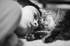 Se gatos e crianças são seres adoráveis, imagina quando estão lado a lado. Pensando na relação entre meninos e meninas com os felinos, o site Bored Panda fez uma seleção de 20 imagens que revelam o carinho entre eles.