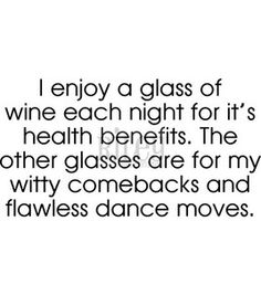 I don't like wine & Vodka has no health benefits, but the rest applies!!