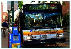 The Oahu bus is a great way to get around the island if you opt not to get an Oahu car rental. The Honolulu bus system is actually ranked as one of the best transit systems in the world. That's pretty impressive with over 72 million stratified Honolulu bus riders per year!