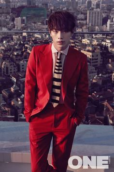 Seo Kang Jun One Korea Magazine January 2015 photos