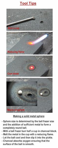 Jewelry Tool Tip - Making a Solid Metal Sphere