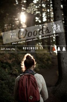 Into the Woods: Women, let's get outside  Saturday November 17, 2012  ann{dot}whittaker9{at}gmail{dot}com