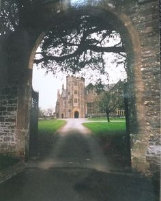 'Next door was a Tudor manor house . our kitchen window gave a tempting view of a high, gabled house with a tower and a deep, arched entrance. The subject of much mischief. Victoria Wood, Travel English, Tudor, Entrance, Journey, Lost, Window, Deep, Kitchen
