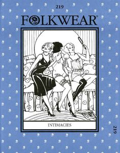 folkwear patterns | Patterns - Folkwear #219 Intimacies