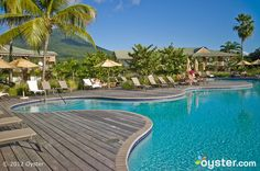 The Reflection pool at the Four Seasons Resort Nevis
