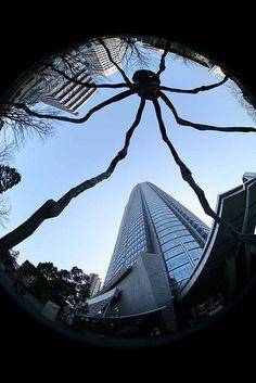 Roppongi, Tokyo, Japan looks like a giant spider