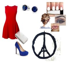 """""""Pray for Paris"""" by vcleere on Polyvore featuring Dolce&Gabbana, Honour, Jessica Simpson, Kate Spade and Bling Jewelry"""