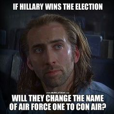 I know that the election is over! However this is still funny. Political Satire, Political Views, Conservative Politics, Funny Politics, It Goes On, Air Force Ones, Thought Provoking, I Laughed, Laughter