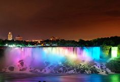 Niagara Falls, New York; been there; done that; saw the light show; stunning