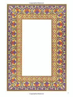 Treasury of Illuminated Borders in Full Color (Dover Pictorial Archive): Carol Belanger Grafton: 9780486256993: Amazon.com: Books