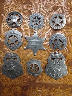 Browse More Old West Badges
