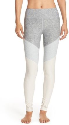 Super comfy stretch workout leggings. Outdoor Voices 'Springs' Colorblock Leggings