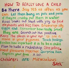 ... : Learning to Parent Children by Speaking Support and Affirmation