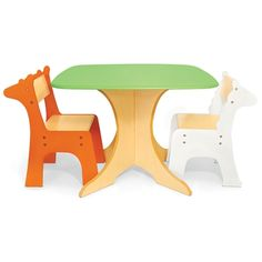Pkolino Safari Collection - Tree Table with Giraffe and Zebra Chairs - Toddler Table and Chairs - #popandlolli #pinparty