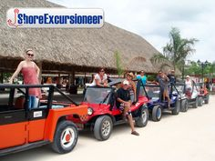 Cozumel Island, Cruise Excursions, Mayan Ruins, Snorkeling, Monster Trucks, The Incredibles, Lunch, Park, Eat Lunch