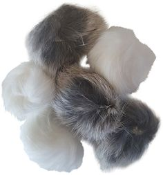 Real Rabbit Fur Pom Pom Ball Cat Toys 6-pack >>> Click image to review more details. (This is an affiliate link and I receive a commission for the sales)