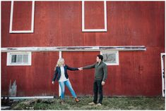 Sarnia Engagement Photographer, Brittany VanRuymbeke, shares Sam & Sacha's recent fun engagement session held on a rustic family farm. Engagement Photography, Engagement Session, Chatham Kent, Couple Posing, Brittany, Films, Poses, Rustic, Couples