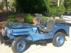 1946 Willys CJ-2A - Photo submitted by Roger Miers.