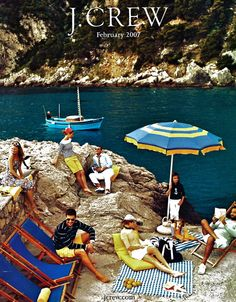 could we as a family all look this fashionable while on vacation on the amalfi coast?