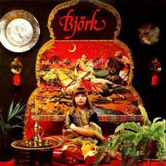 Now this is what I call a first album cover. Bjork was 12, 12!