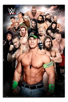 WWE Collage Official Poster