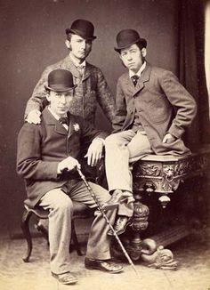 ~~Victorian gentlemen~~