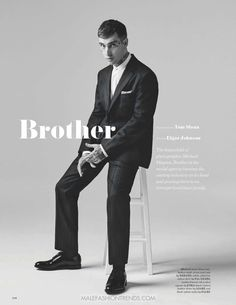 Male Fashion Trends: Editorial por Tom Sloan para GQ Style UK Fall-Winter 2016