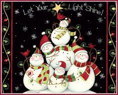 Let your light shine Christmas Graphics, Christmas Clipart, Christmas Paper, Christmas Printables, Christmas Pictures, Christmas Colors, Christmas Snowman, Christmas Holidays, Christmas Decorations