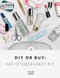 There are certain wedding day essentials no bride (or bridesmaid) should be without - be prepared!