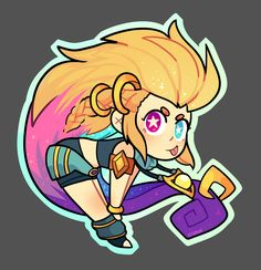 ArtStation - Zoe - League Of Legends, Ana Paulina Mora Game Character Design, Candy Land, Drawing Ideas, Twilight, Coaching, Legends, Anime, Stickers, Illustrations