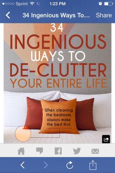 My latest Musely find blew my mind: Ways To De-clutter Your Entire Life