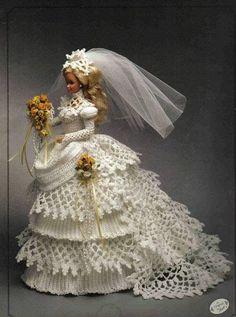 Pattern PDF  Fashion Doll Bride Crochet  Free by samypinto1, €1.50