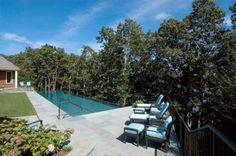 Infinity pool, bluestone terrace