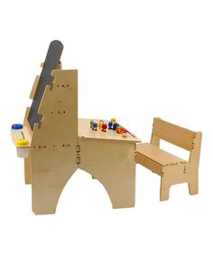 Easel Desk & Bench