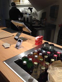 Bäckerei in Zürich mit iPad Kasse GASTROFIX und Kundenansicht
