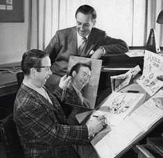 Alice in Wonderland - Ward Kimball and Walt Disney