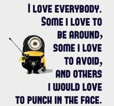Here are the best funny minion quotes ever!  Everyone loves minions and these hilarious minion quotes will put a smile on your face!