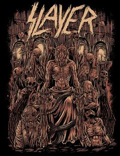 Slayer on Behance