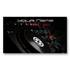 Dj Business Card #djBusinesscard #dj #BusinessCard