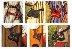 Nierentaschen aus dem Mittelalter