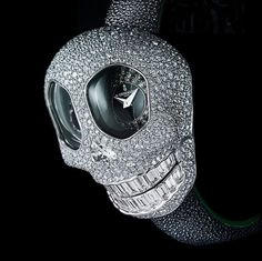 de Grisogono's Crazy Skull, A One-Of-A-Kind Halloween Watch