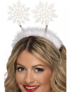Looking for Snowflake Head Boppers, White? Visits Smiffy's wholesale for all your Christmas Fancy Dress needs today. Funny Fancy Dress, Christmas Fancy Dress, Ladies Fancy Dress, Christmas Glitter, Halloween Christmas, Fancy Dress Accessories, Diy Hair Accessories, Funny Christmas Costumes, Anna Y Elsa