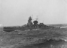 DKM Deutschland-class heavy cruiser 'Admiral Graf Spee'